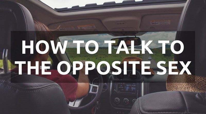 how to talk to the opposite sex